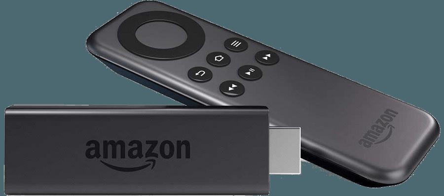 An Amazon FireTV Stick